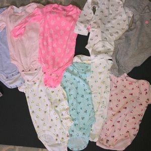 Carter's onesie bundle 18 months